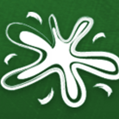 Green Painters Twitter Logo